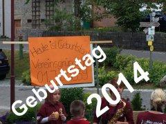 2014 Geburtstag