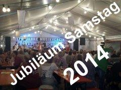 2014 Jubiläum Samstag